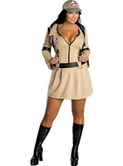 Plus Size Sexy Ghostbuster Costume Adult