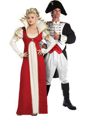 Josephine and Napoleon Couples Costumes