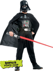 Star Wars Darth Vader Costume Boys