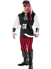 Cutthroat Pirate Costume Adult