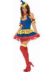 Clowning Around Clown Costume Adult