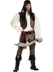 Rogue Pirate Costume Adult