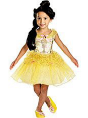 Ballerina Belle Costume Girls