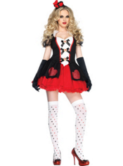 Enchanted Queen of Hearts Costume Adult