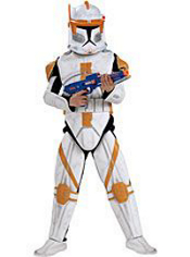 Star Wars Commander Cody Costume Boys Deluxe