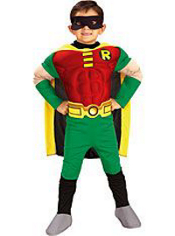 Robin Muscle Costume Boys Deluxe