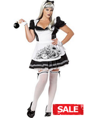 Plus Size Dark Alice Costume Adult