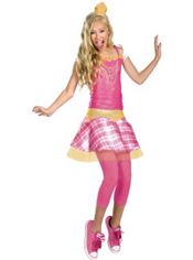 Sleeping Beauty Plaid Aurora Costume Girls