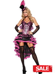 Burlesque Beauty Costume Adult
