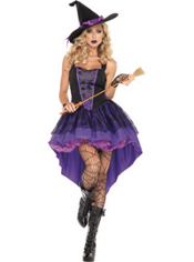 Adult Broomstick Babe Witch Costume