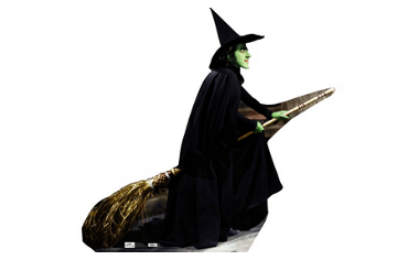 Wicked Witch Life Size Cutout 72in
