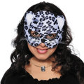 Black Jungle Cat Mask