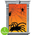Spider Window Silhouettes 2ct
