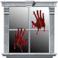 Bloody Hands Gel Clings 2pc