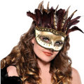 Owl Feather Mask Adult