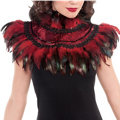 Fire Bird Feather Collar Adult