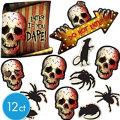 Creepy Carnival Cutouts 12ct