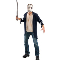 Friday the 13th Jason Costume Adult