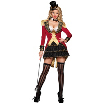 Big Top Ringmaster Costume Adult
